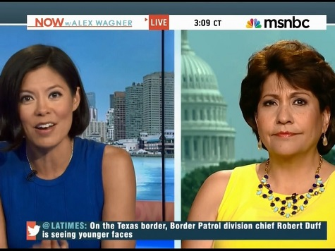 MSNBC Host, La Raza Guest Tie Anti-Hispanic Hate Crime to Illegal Immigrant Pushback