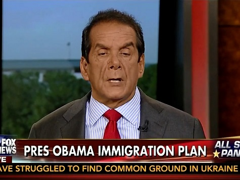 Krauthammer: Obama Immigration Policy 'Completely Disconnected from Reality'