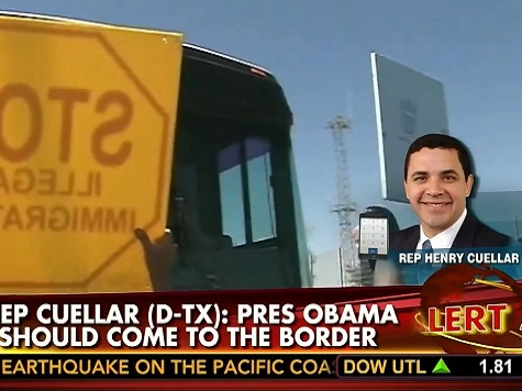 Dem Rep: Buses of Illegals Crossing Border, Could Be Obama's 'Katrina Moment'