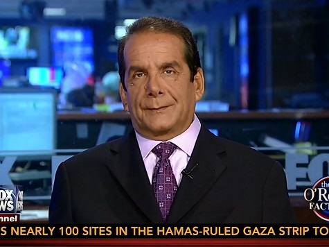 Krauthammer Slams NY Times Editorial Page: 'Childish,' 'They Have No Influence'