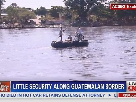 Report: Guatemala-Mexico Border Wide Open