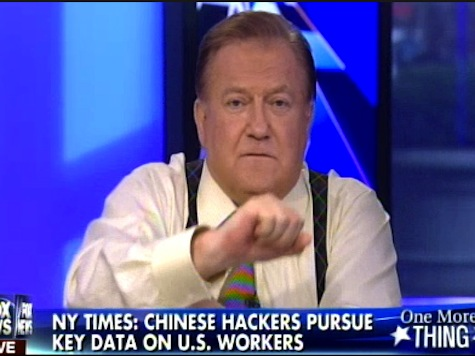 Bob Beckel Rants About 'Chinamen' Threatening America
