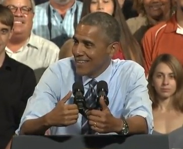Obama Laughs Off Impeachment Calls … Really For What?