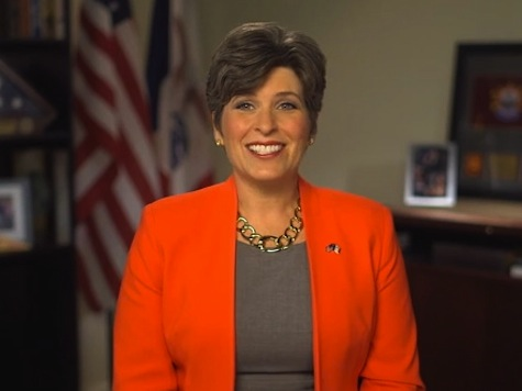 Senate Hopeful Joni Ernst Attacks Liberals in GOP Weekly Address