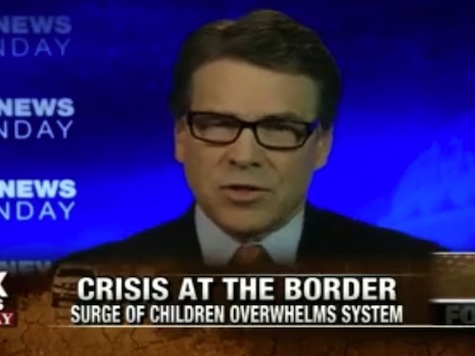 Perry: Obama Was Not Even Aware of Border Patrol Position