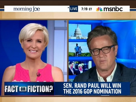 Joe Scarborough: 'Fiction' that Rand Paul Will Be 2016 Nominee