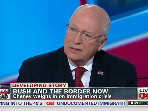 Cheney: Obama 'Doing Nothing' to Secure Border