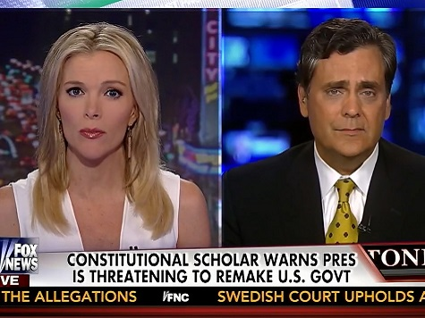 Turley on Obama's Use of Executive Power: 'A Very Dangerous Point'