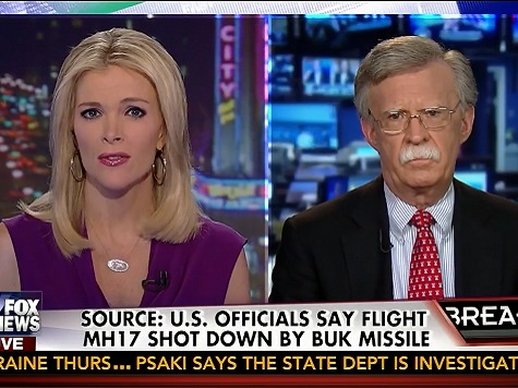 Bolton: Obama Foreign Policy Makes Russian Aggression 'Understandable'