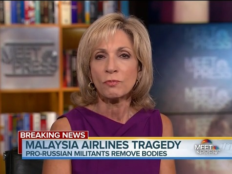 Andrea Mitchell, David Gregory: 'New Low' in U.S.-Russia Relations