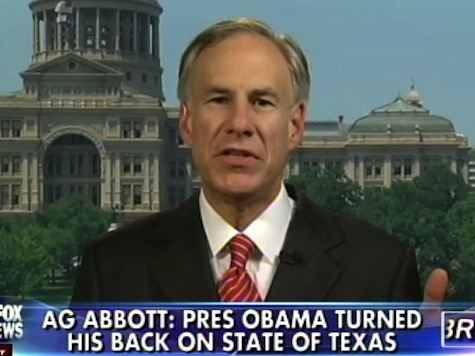 Greg Abbott: Obama Has Turned His Back on the State of Texas
