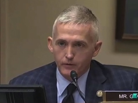 Trey Gowdy Eviscerates IRS Commissioner