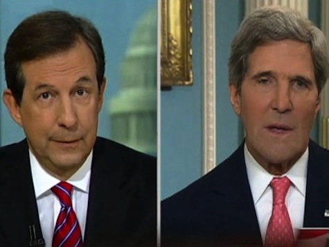 Fox News' Wallace: Other Networks Declined To Air Kerry's Hot Mic Moment