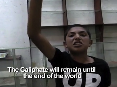 Children Swear Allegiance to Islamic State's Caliphate