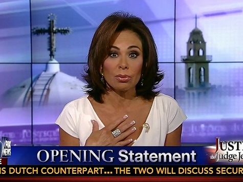 Pirro: Why Isn't the Pope Helping Christians in Middle East?