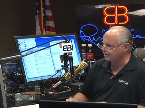 Rush Limbaugh: 'God Bless Jeff Sessions'