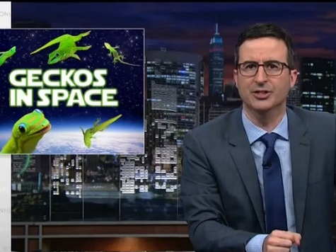 John Oliver Urges Viewers to Flood Russian Gov't Website with #GoGetThoseGeckos Campaign