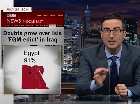 John Oliver Rails Against Egypt and Its 91% Female Genital Mutilation Rate