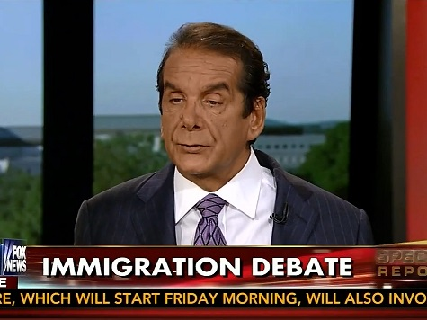 Krauthammer: Obama Amnesty Action 'a Serious Trespass on the Constitution'