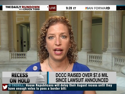 Wasserman Schultz: Impeachment Not Off Table Because Boehner Can't Control His Caucus