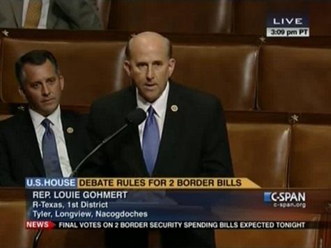 Gohmert Speaks Out on Border Bill