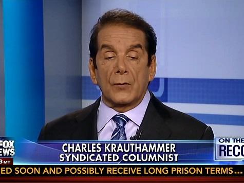 Krauthammer: World's Anti-Semitic Reaction to Gaza 'Orwellian'