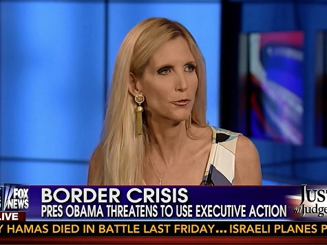 Coulter: 'The Media Is Lying' About Immigration Law at Southern Border
