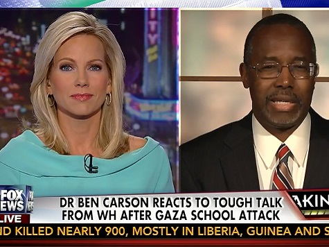 Carson: US Abandoning 'Little Brother' Israel