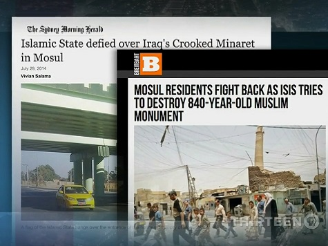PBS Uses Breitbart Report on ISIS in Mosul