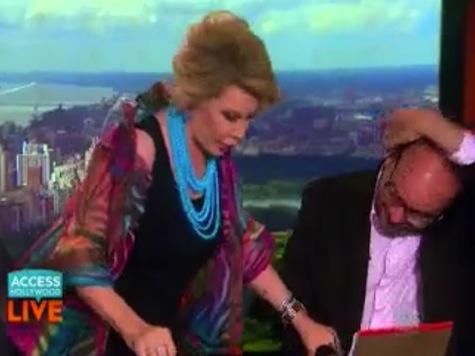 Joan Rivers Calls Sarah Palin a 'Retarded Person'