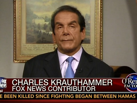 Krauthammer on Hamas anti-Israel Rhetoric: 'This Is the Oldest Blood Libel of All'