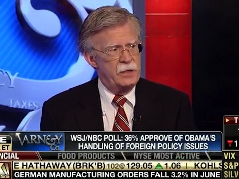 Bolton: World Has Descended Into Chaos Under Obama