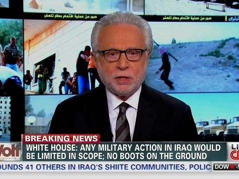 Wolf Blitzer: Iraq 'Falling Apart,' 'Not the Way It Was Supposed to Be'