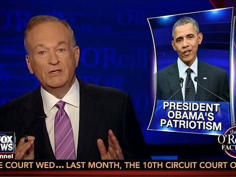 O'Reilly: Obama's Presidency a 'Performance Failure, Not a Patriotic Failure'