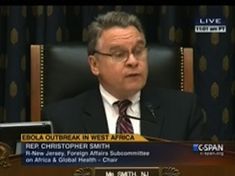 GOP Rep: Hospitals Are Testing for Ebola