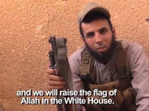 ISIS: We Will Raise the Flag of Allah in the White House