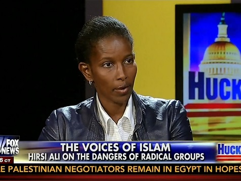 Ayaan Hirsi Ali: Israel's Creed Based on Life, Hamas' Based on Death