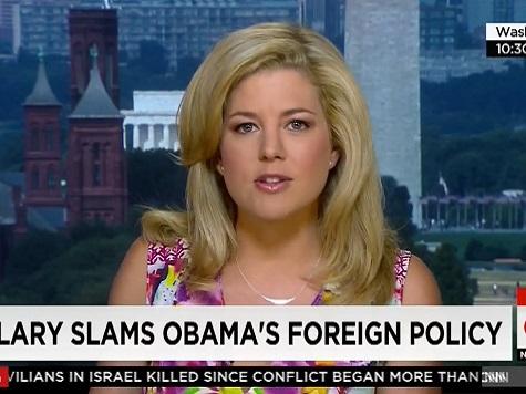 CNN's Keilar: Hillary's Iraq Statement a 'Slam' of Obama
