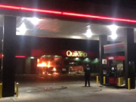Watch: Riots, Looting Erupt in Suburban St. Louis