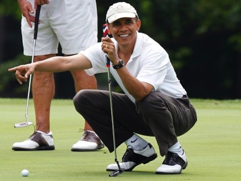 ABC's Jon Karl: Obama WH 'Entirely Unconcerned' by Optics of Golfing During Crises