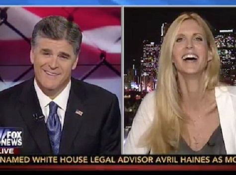 Coulter, Hannity Spar over GOP