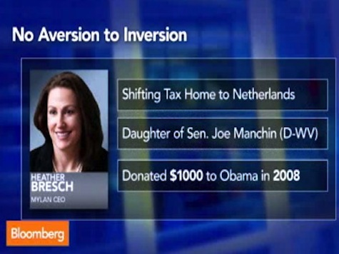 Bloomberg TV Hits Obama for Big Donors Tax Inversion