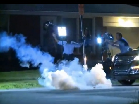 Watch: Al Jazeera America Crew Hit with Tear Gas