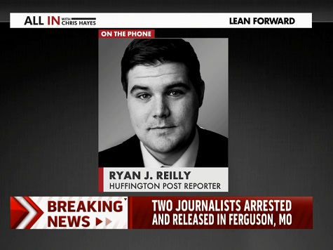 Arrested HuffPo Reporter Cites Being Journalist, White as 'Place of Privilege' in Ferguson
