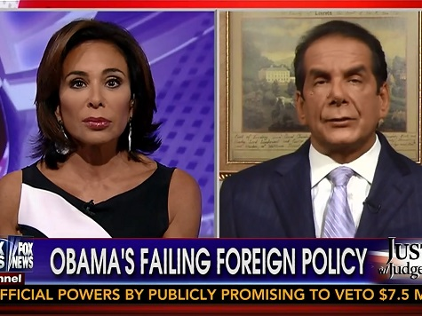Krauthammer: 'Anti-Semitism Is Back in Vogue'