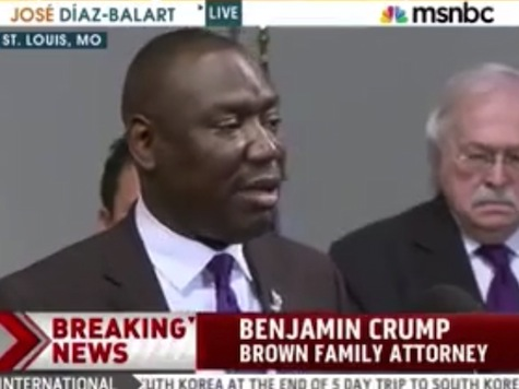 Brown Attorney: St Louis Police 'Responsible for Executing Their Son in Broad Daylight'