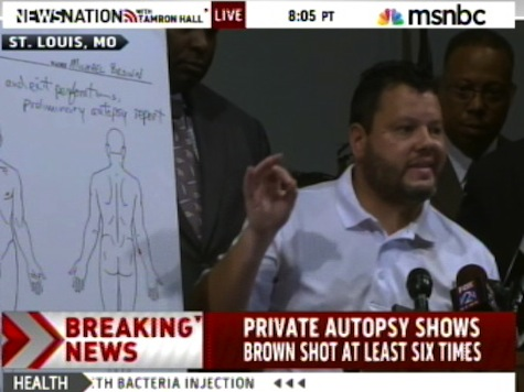 Michael Browns Autopsy Results Detailed