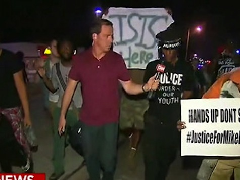 ISIS Is Here: Ferguson Protester Holds Up Jihadist Sign
