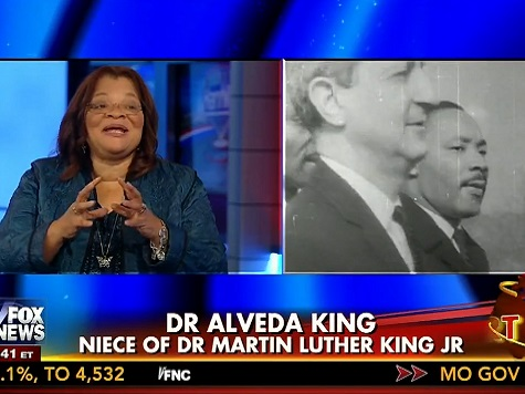 Alveda King: You Need Peace, then Justice