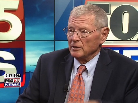 Inhofe: ISIS 'Rapidly Developing a Method of Blowing up a Major US City'